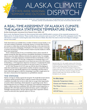 alaska climate dispatch cover